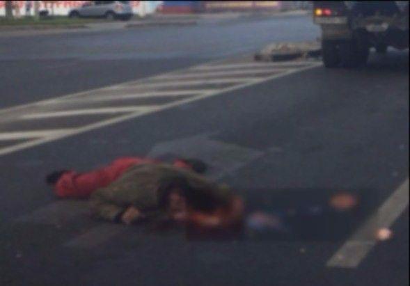 В центре Волгограда грузовик сбил пешехода