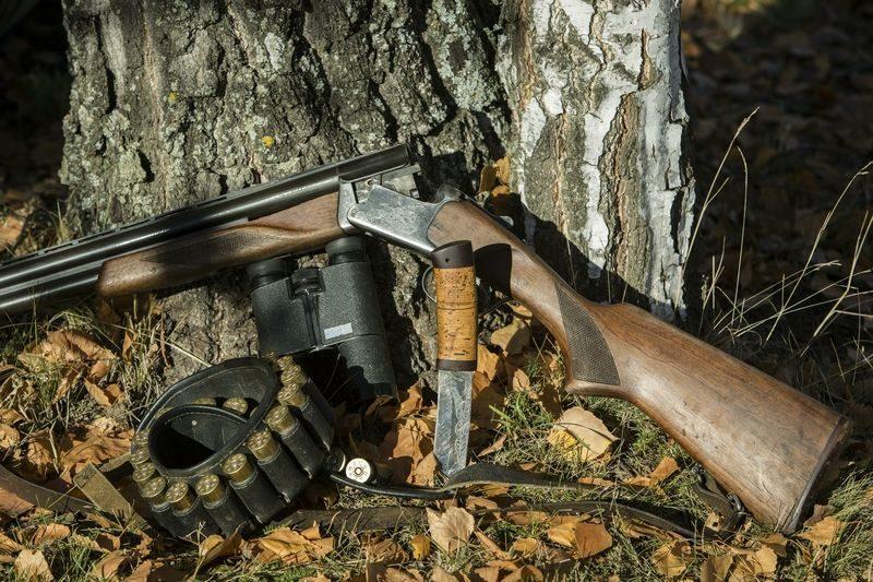 Жители области совершали охоту из нелегального оружия