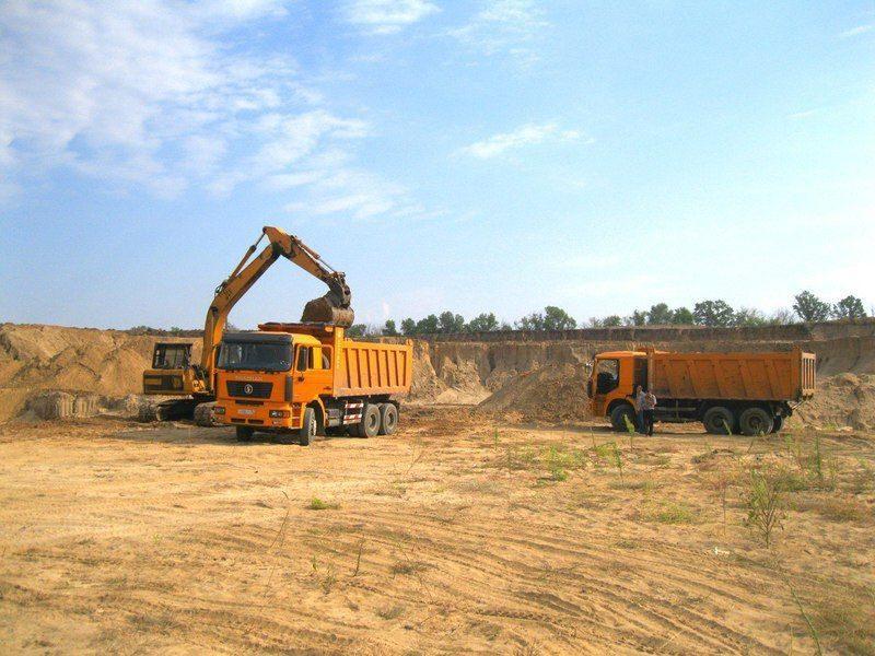 Бизнесмен незаконно накопал песка почти на полтора миллиона рублей