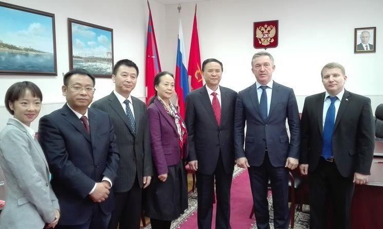 Волгоград и Чэнду подписали соглашение о сотрудничестве