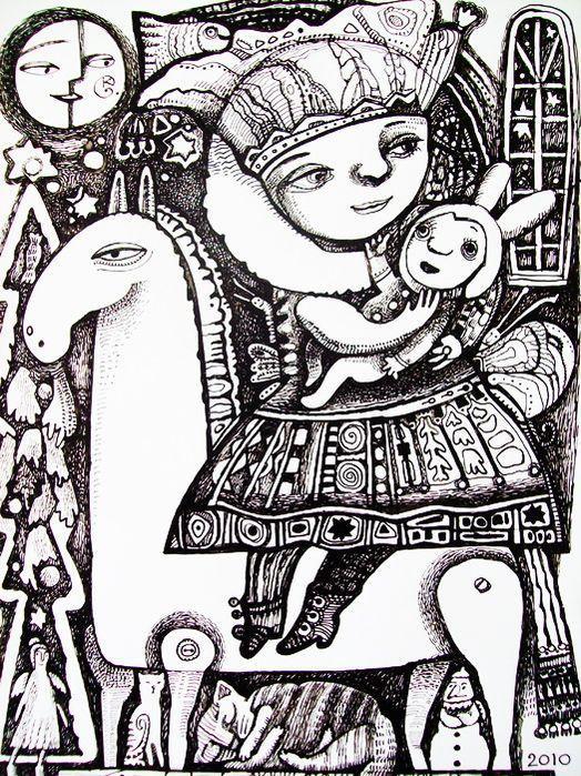 В Детской художественной галерее откроется персональная выставка Екатерины Гельперн