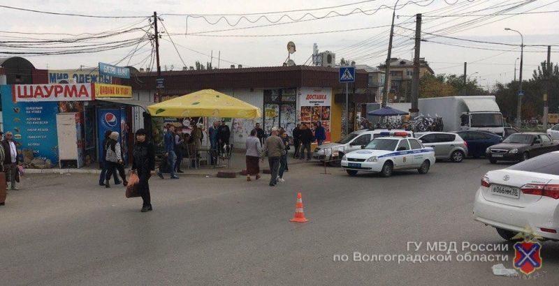 В Волгограде водитель сбил пешехода и скрылся с места ДТП