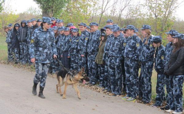 Учащиеся профильных классов ФСИН посетили колонию