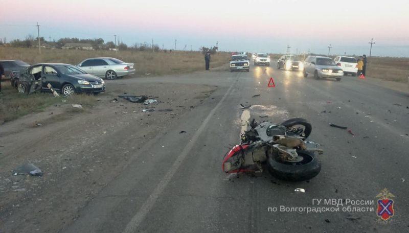 Ошибка водителя привела к двойному ДТП с летальным исходом