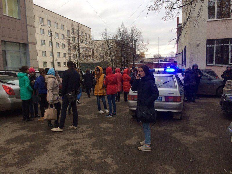 В Уфе из колледжа статистики эвакуировали экстренно студентов и преподавателей