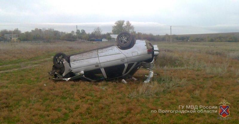 Приступ у водителя спровоцировал ДТП под Волгоградом