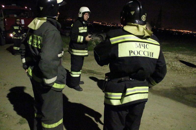 В Волгограде горела девятиэтажка