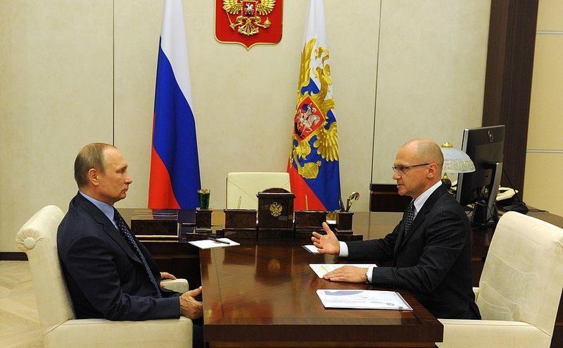 Володина на посту замглавы кремлевской администрации сменил Кириенко