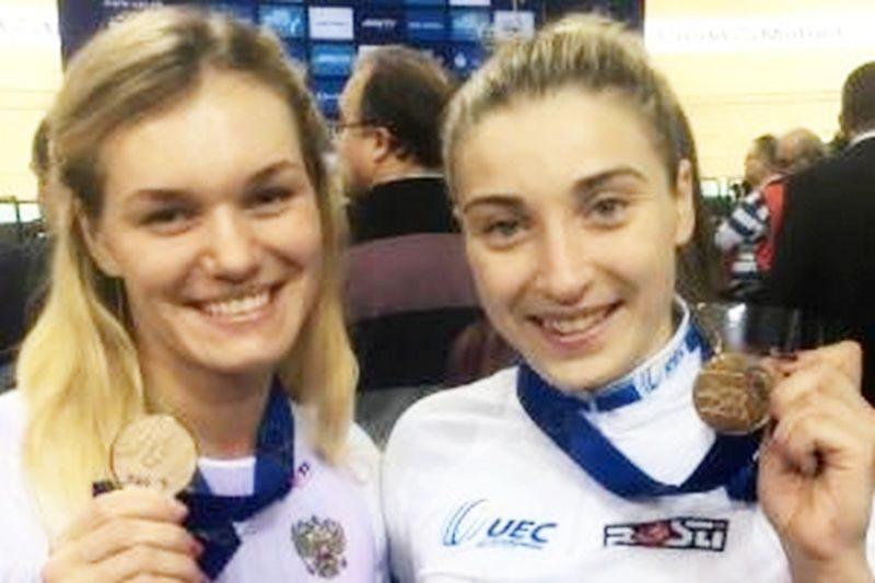 Дарья Шмелева и Анастасия Войнова выиграли золотые медали