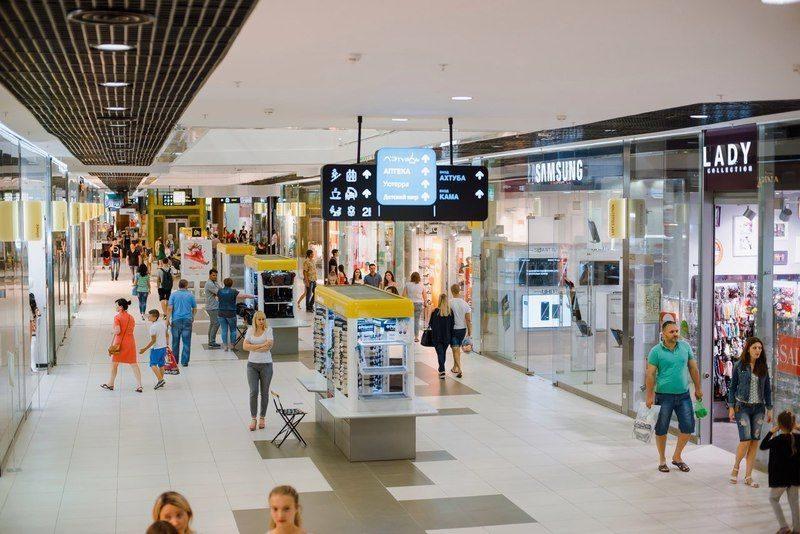 Торговый центр эвакуировали из-за проспорившего школьника