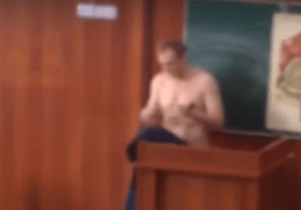 Дагестанские студенты вступились за голого преподавателя