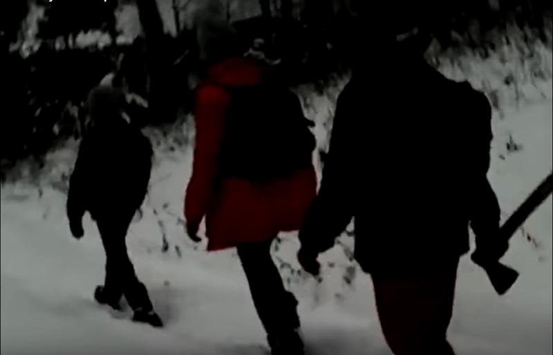 Башкирские дети вооружаются топорами, чтобы по пути в школу их не загрызли хищники (ВИДЕО)