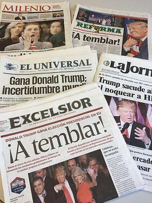 Газеты о победе Трампа