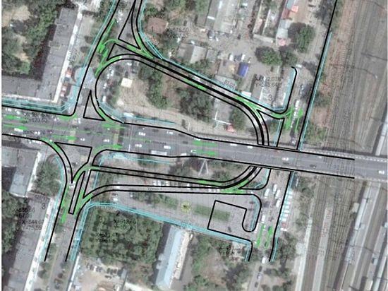 В Центральном районе появится новая транспортная развязка