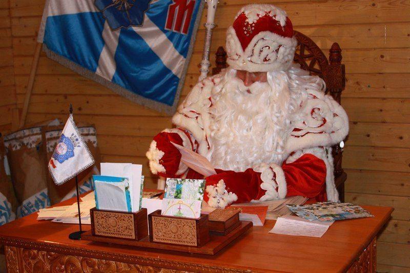 Волгоградцы могут отправить письмо Деду Морозу в любом почтовом отделении