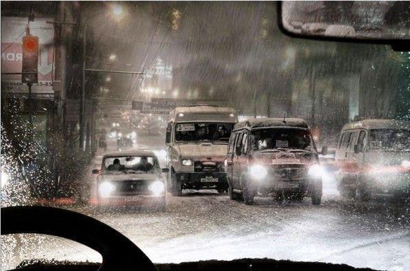 МЧС: На Волгоград надвигается туман и сильный снег