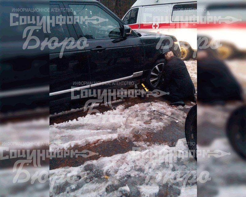 Range Rover убил хозяина