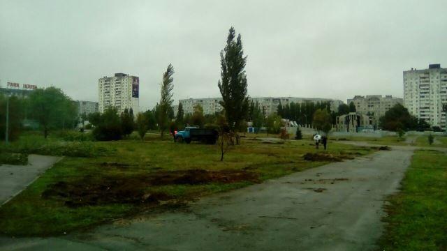 В Волгограде благоустройство парка героев-летчиков отложили