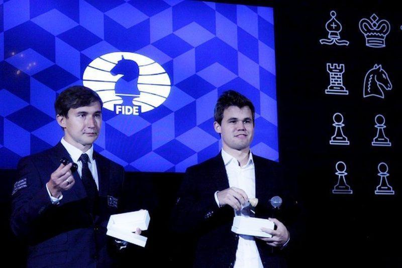 Карякин и Карлсен сыграли вничью в первой партии