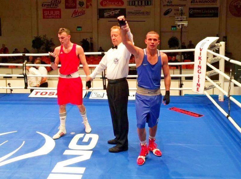 Алексей Мазур выиграл золото на старейшем турнире по боксу