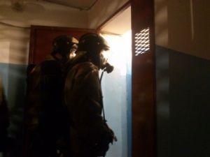 В Красноармейском районе горел многоквартирный дом, есть жертвы