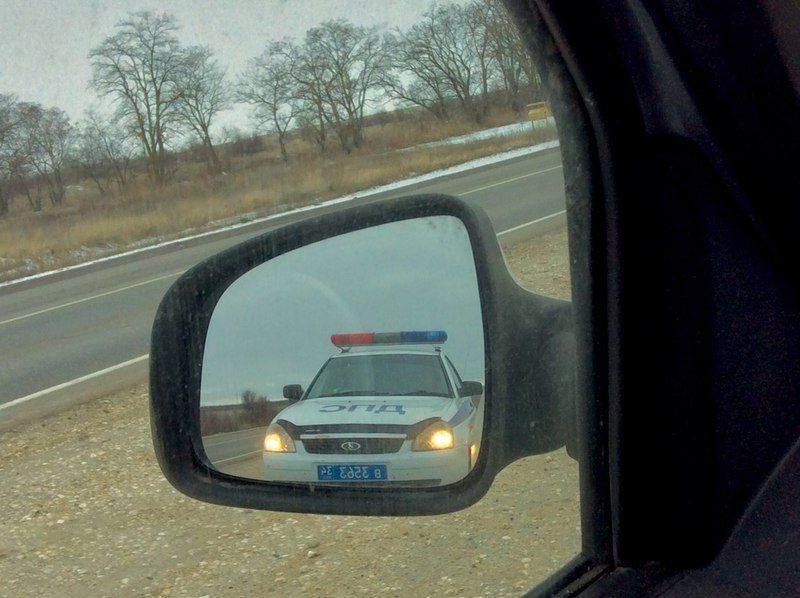 За воскресное утро на дорогах Волгограда были пойманы 82 нарушителя