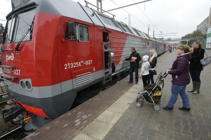 Под Волгоградом временно приостановлено движение поездов
