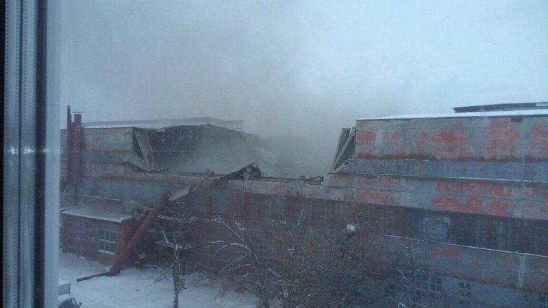 Названы причины обрушения крыши завода в Екатеринбурге