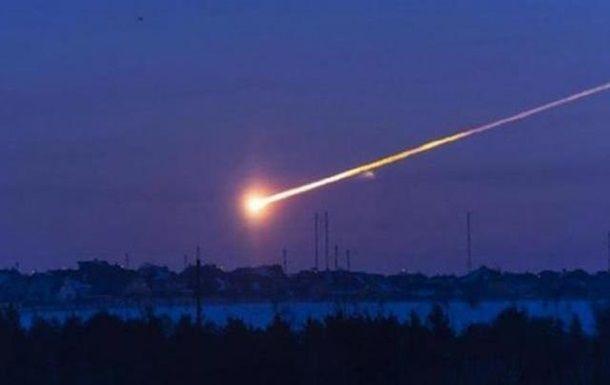 В республике Хакасия упал метеорит