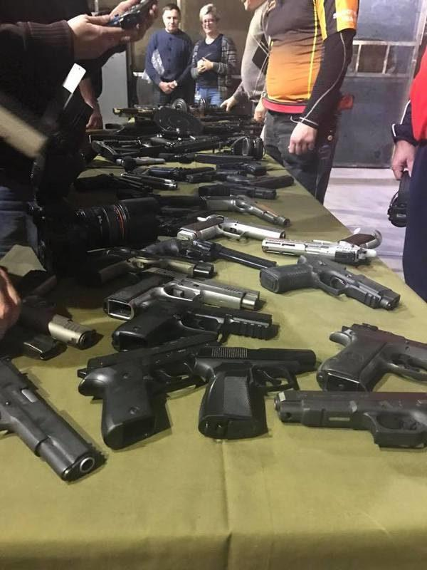 В Москве стреляли в память журналистов