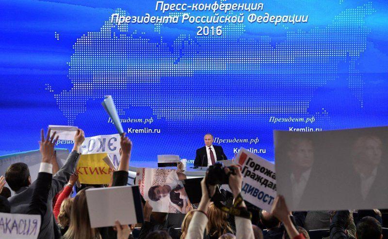 Основные тезисы большой пресс-конференции с Владимиром Путиным
