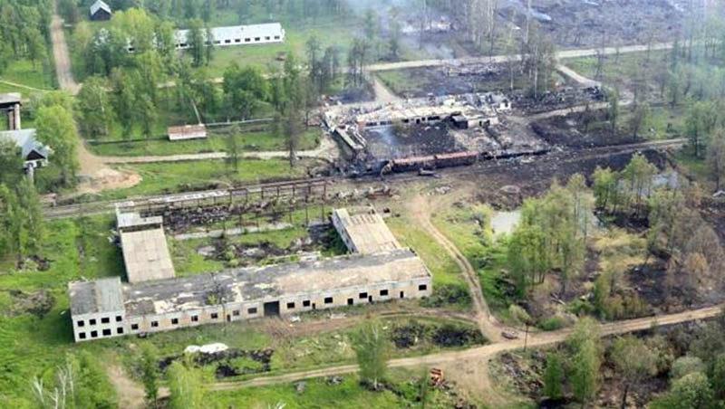В Башкирии произошел взрыв военного склада
