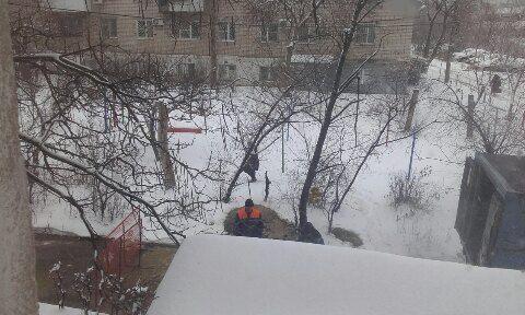В Волгограде снова произошла коммунальная авария