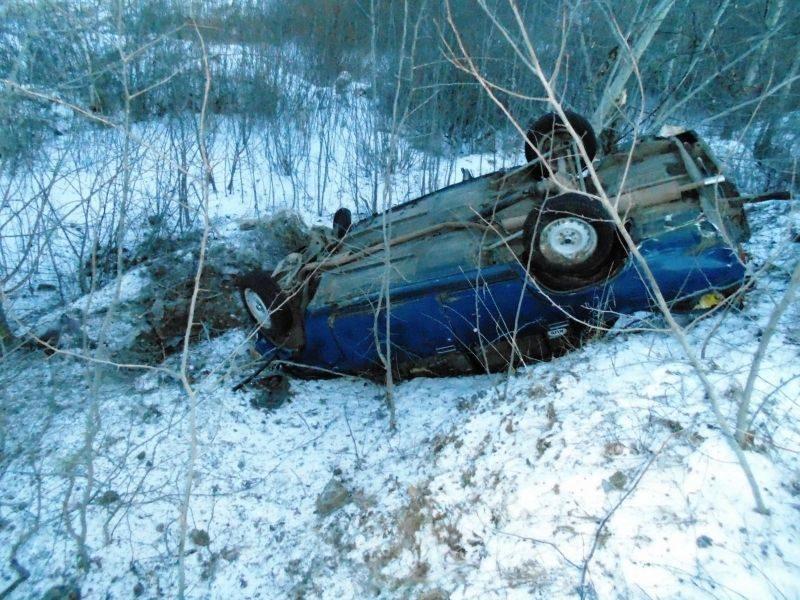 Под Волгоградом из-за спешки водителя погибла женщина