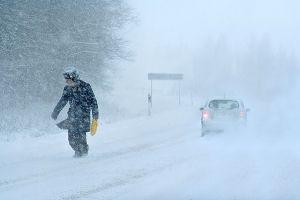 На Волгоградскую область надвигается метель, ледяной дождь и штормовой ветер