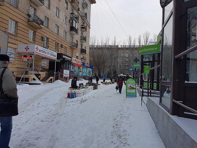 Волгоградцы жалуются на уличных торговцев