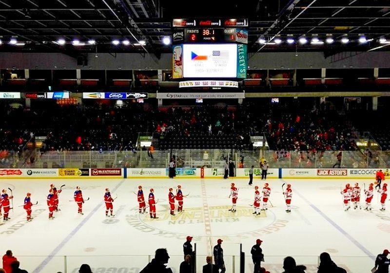 Российская «молодежка» сыграла выставочный матч в Кингстоне