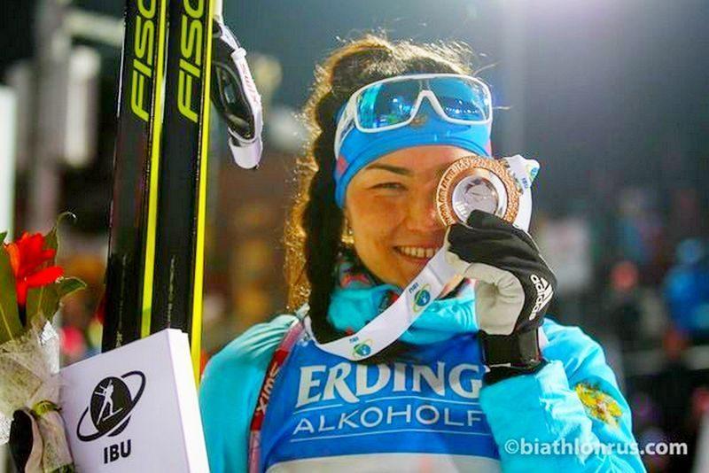 Татьяна Акимова выиграла золото на этапе Кубка мира в спринтерской гонке