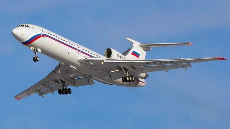 ФСБ представила 4 основные версии крушения Ту-154