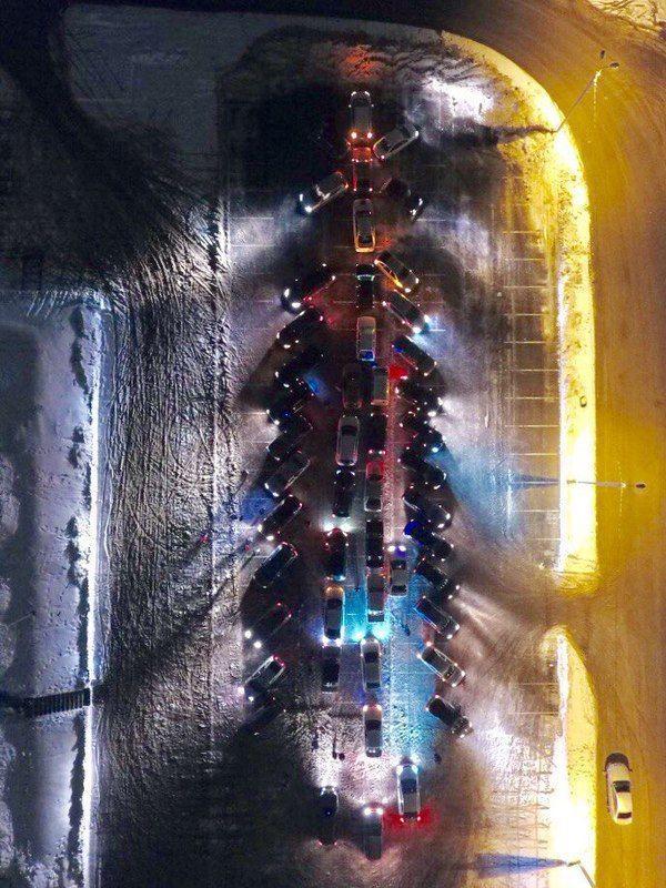 Новогодний флешмоб в Волгограде