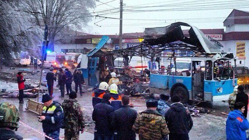 Теракт в троллейбусе Волгоград