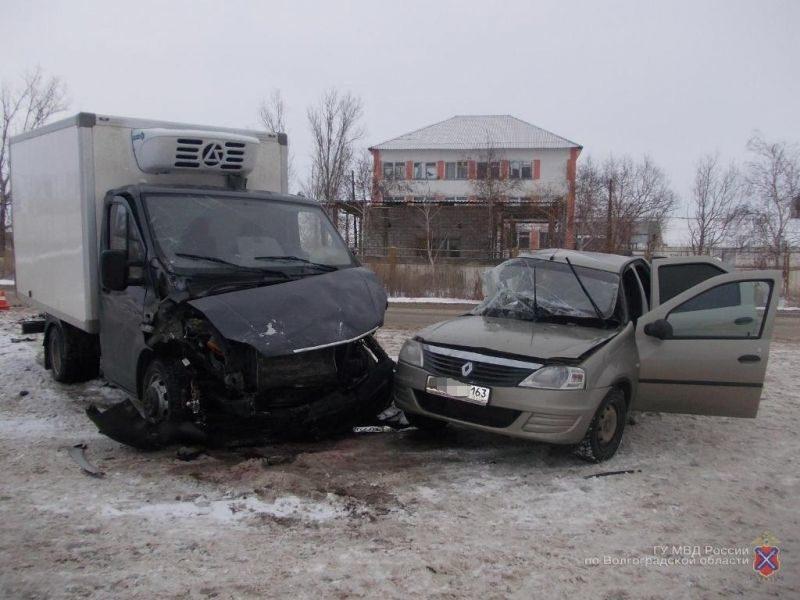 Под Волгоград в ДТП с «ГАЗелью» погиб мужчина