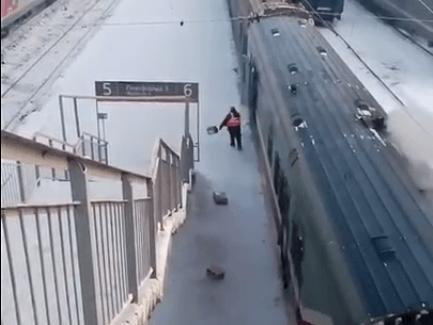 «Почта России» снова отличилась: посылки с поезда сбрасываются прямо на ходу