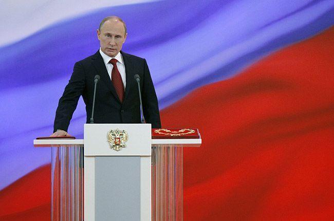 Путин оглашает Послание к Федеральному собранию