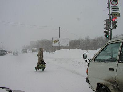 МЧС: На регион надвигаются снегопад и метели