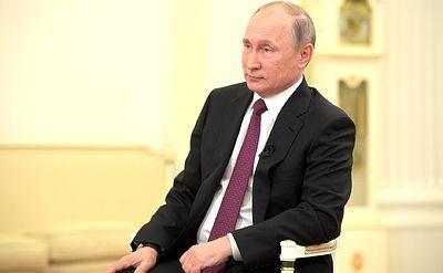 Путин четвертый раз подряд стал человеком года по версии Forbes