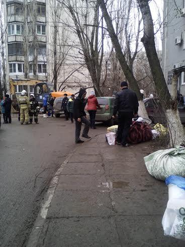 Взрыв в многоэтажке на улице Космонавтов