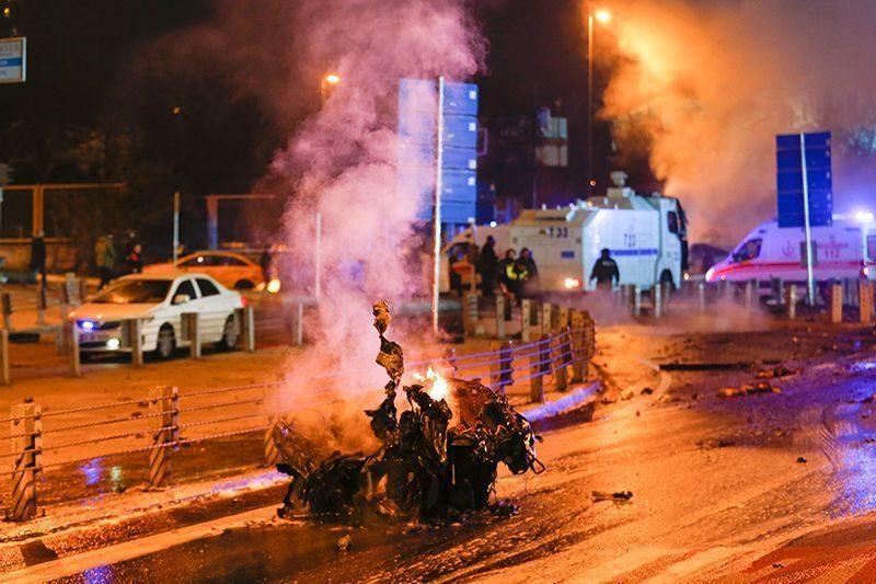 При теракте в Стамбуле погибли 29 человек