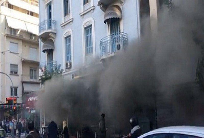В столице Греции прогремел взрыв