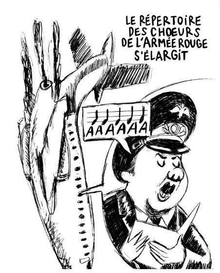 Журнал Charlie Hebdo опубликовал карикатуру на крушение Ту-154